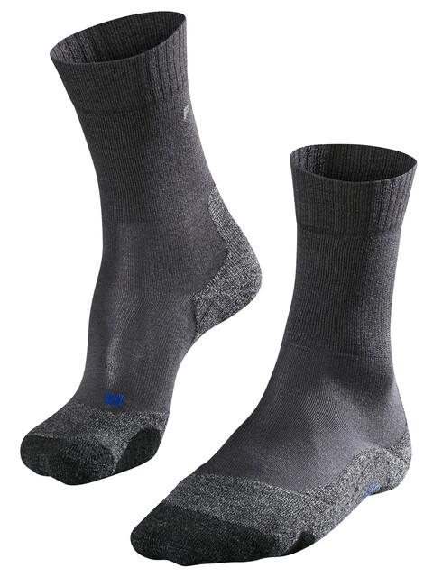 Falke TK2 Cool Trekking Socks Women asphalt melange